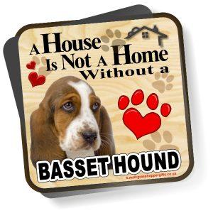 Coaster - Basset Hound Home