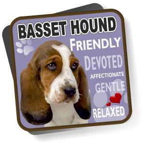Coaster - Basset Hound No2