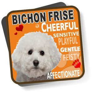 Coaster - Bichon Frise No2