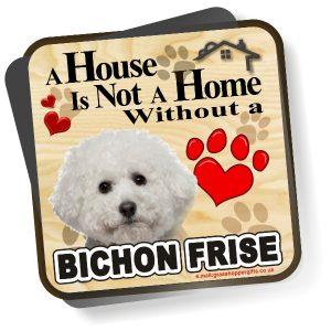 Coaster - Bichon Frise Home