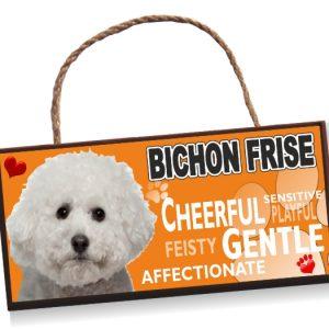 Sign - Bichon Frise No2 Bright