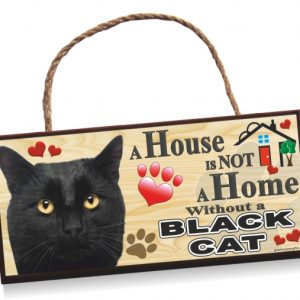 Sign - Black Cat Home