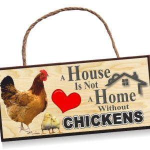 Sign - Chickens Home