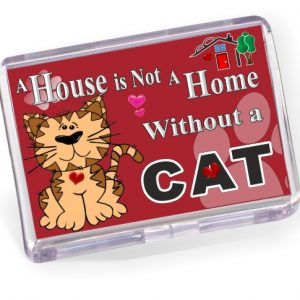 Fridge Magnet - Cat Cartoon No2