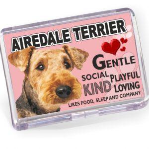 Fridge Magnet - Airedale Terrier No2