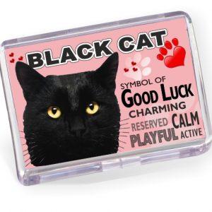 Fridge Magnet - Black Cat No2