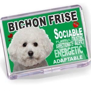 Fridge Magnet - Bichon Frise No2