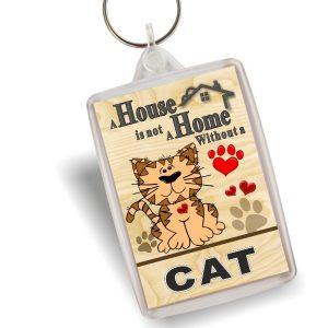 Key Ring - Cartoon Cat
