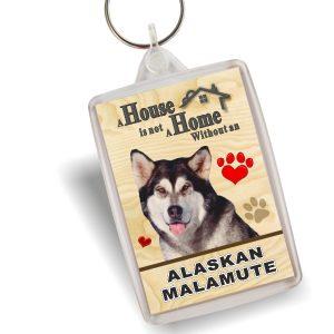 Key Ring - Alaskan Malamute