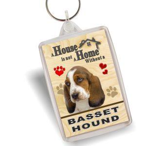 Key Ring - Basset Hound