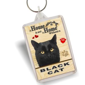 Key Ring - Black Cat