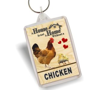 Key Ring - Chickens