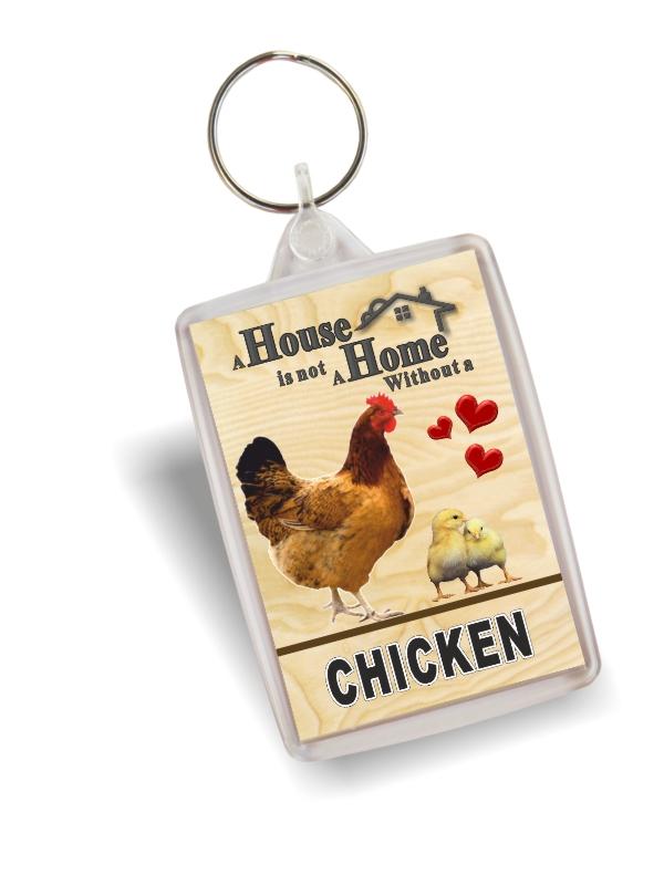 Key Ring - Chickens