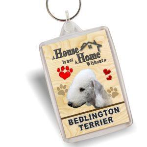 Key Ring - Bedlington Terrier