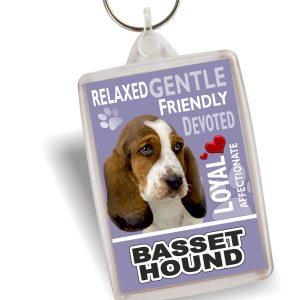 Key Ring - Basset Hound No2