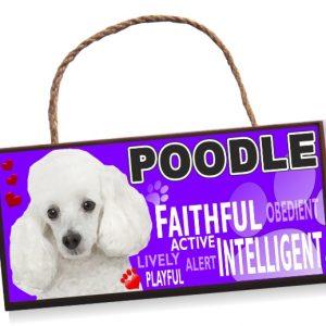 Sign - Poodle No2