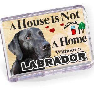 Fridge Magnet - Labrador No1 Black