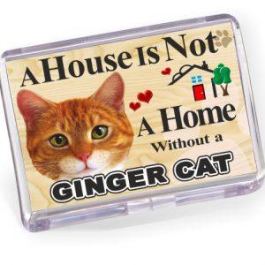 Fridge Magnet - Ginger Cat