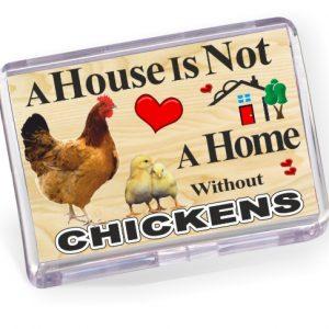 Fridge Magnet - Chickens