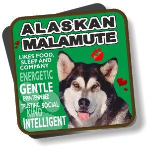 Coaster - Alaskan Malamute No2