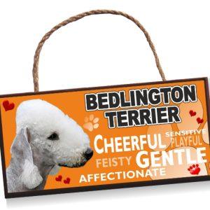 Sign - Bedlington Terrier, No2 Bright