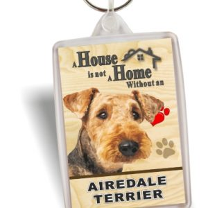 Key Ring - Airedale Terrier