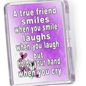 Fridge Magnet True Friend