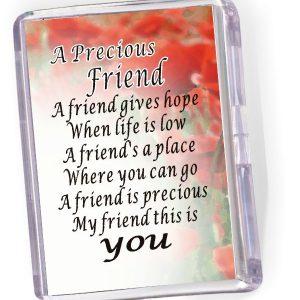 Fridge Magnet 'A Precious Friend...'