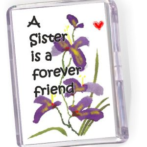 Fridge Magnet A Sister is a Forever Friend