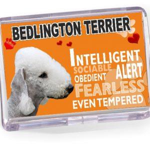 Fridge Magnet - Bedlington Terrier No2