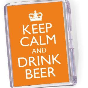 Fridge Magnet Drink Beer