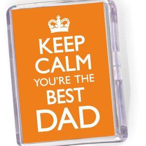 Fridge Magnet  Best Dad