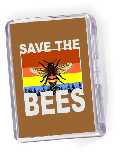 Fridge Magnet 'Save the Bees'