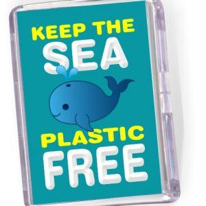 Fridge Magnet 'Keep the Sea Plastic Free'