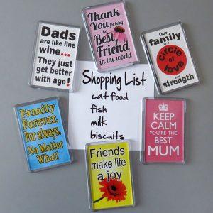 Fridge Magnets - Inspirational and Humorous