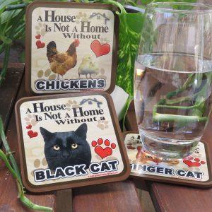 Cat & Animal Coasters