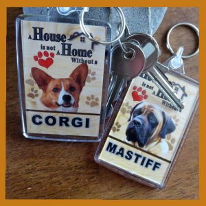Dog Key Rings