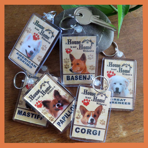 Other Dog Key Rings - Additions